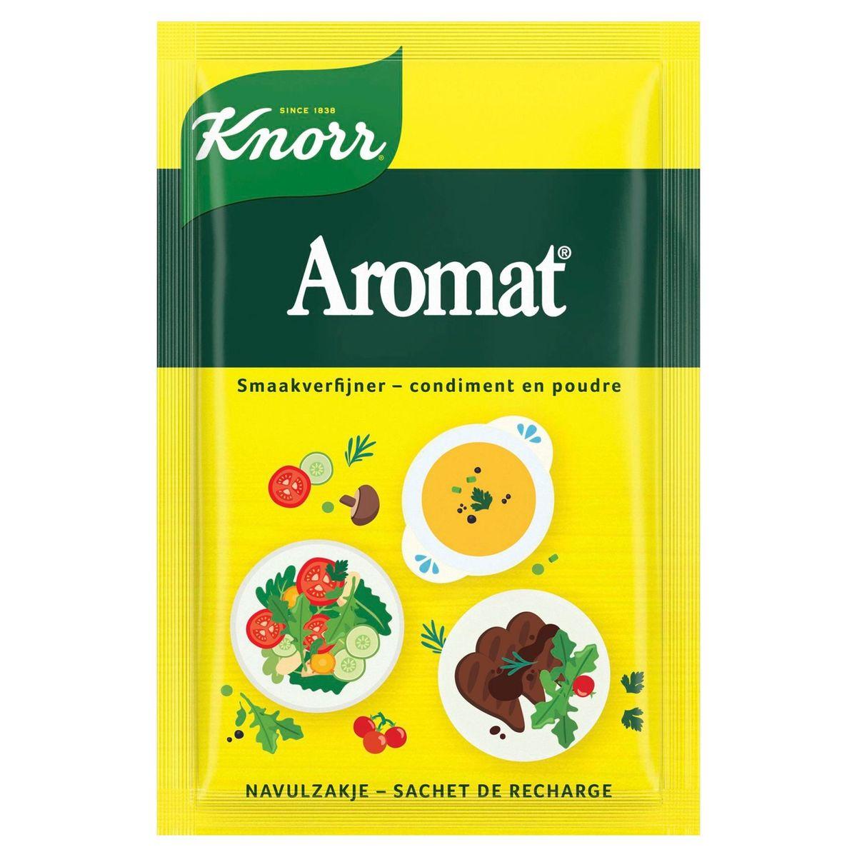 Knorr Aromat Poeder Smaakverfijner Natuur (Navulzakje) 38 g