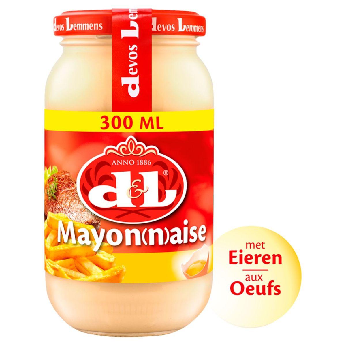 Devos Lemmens Mayonaise met Ei 300 ml