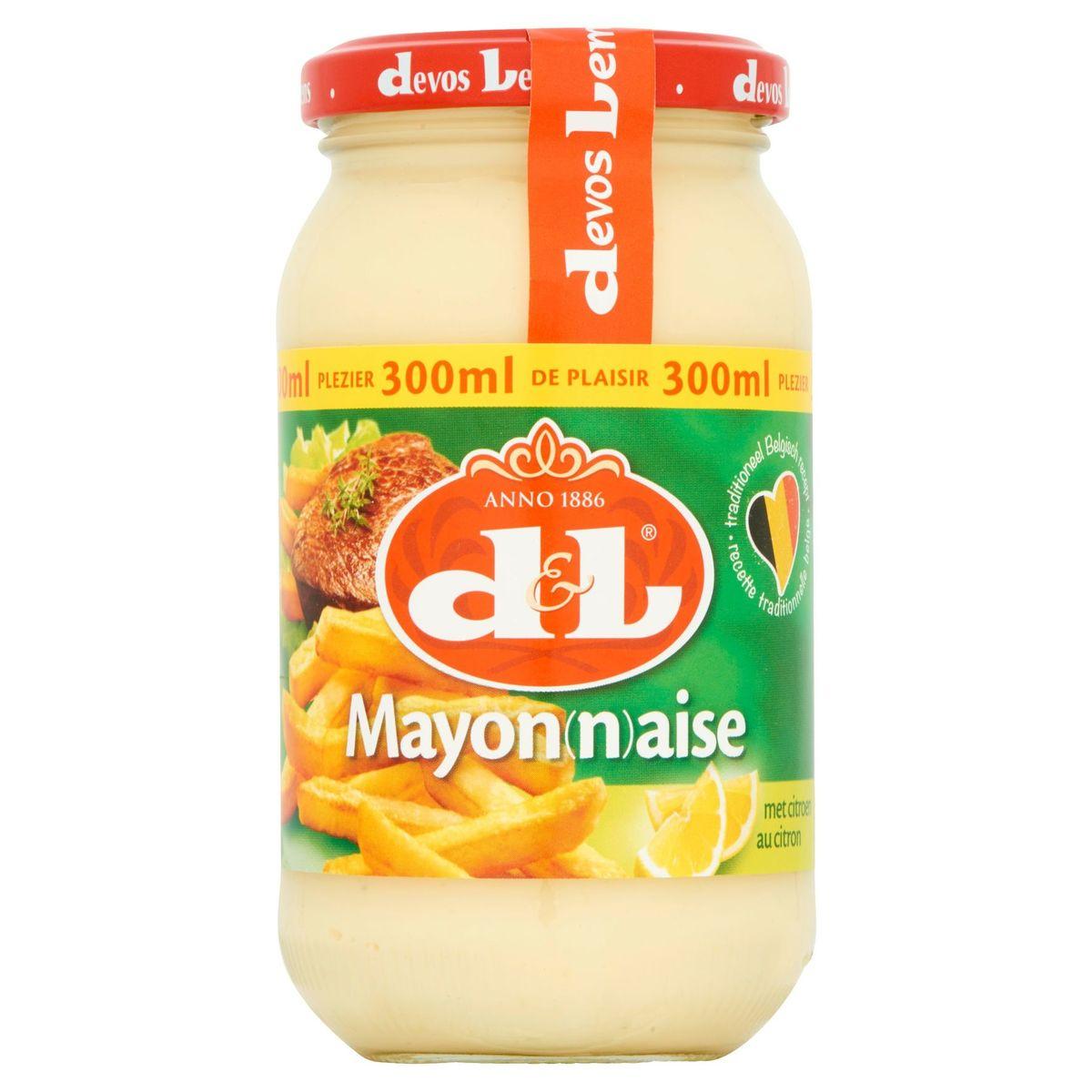 Devos Lemmens Mayonnaise au Citron 300 ml
