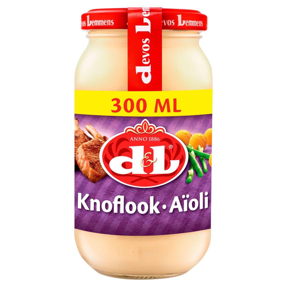 Devos Lemmens Knoflook 300 ml