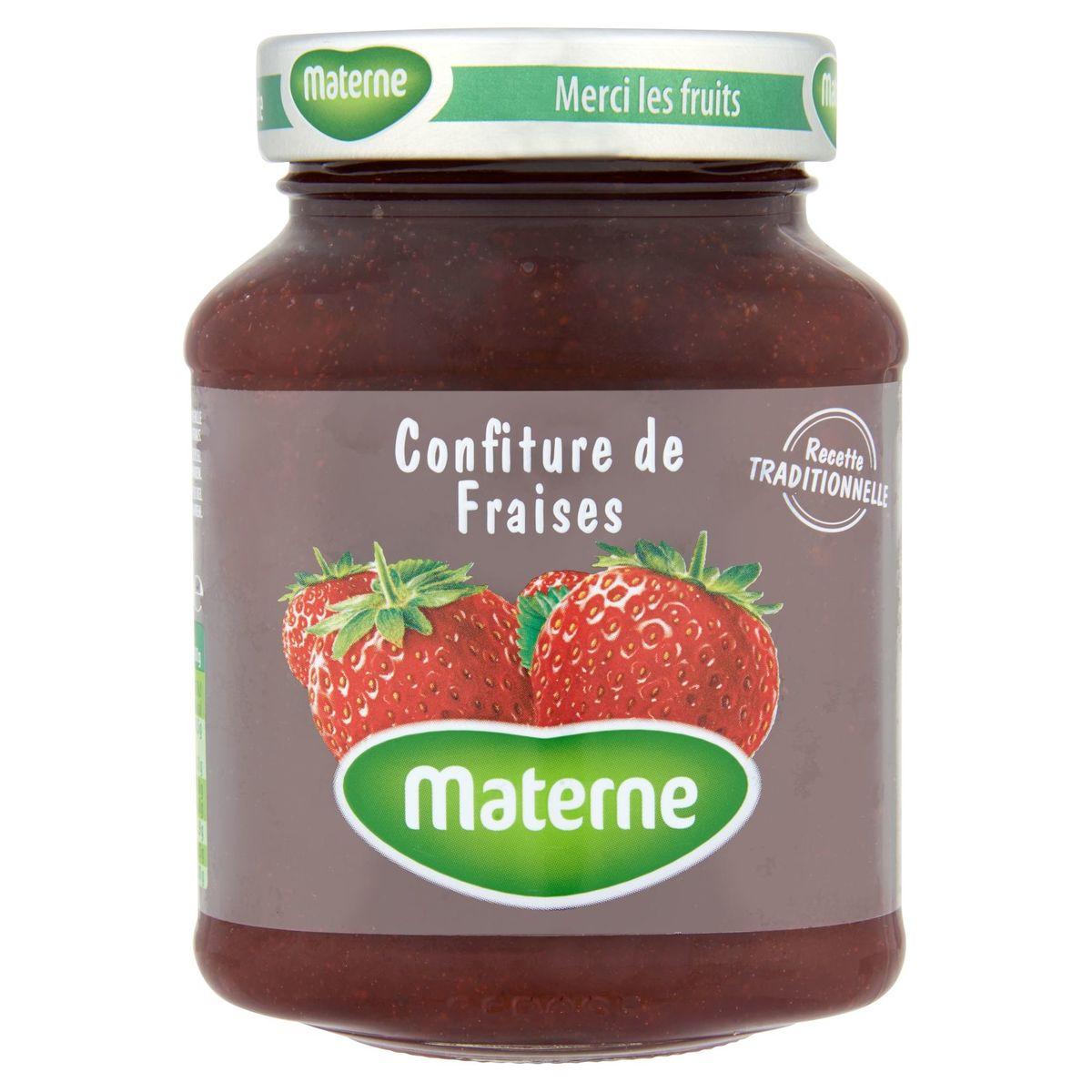 Materne Aardbeien Confituur 450 g