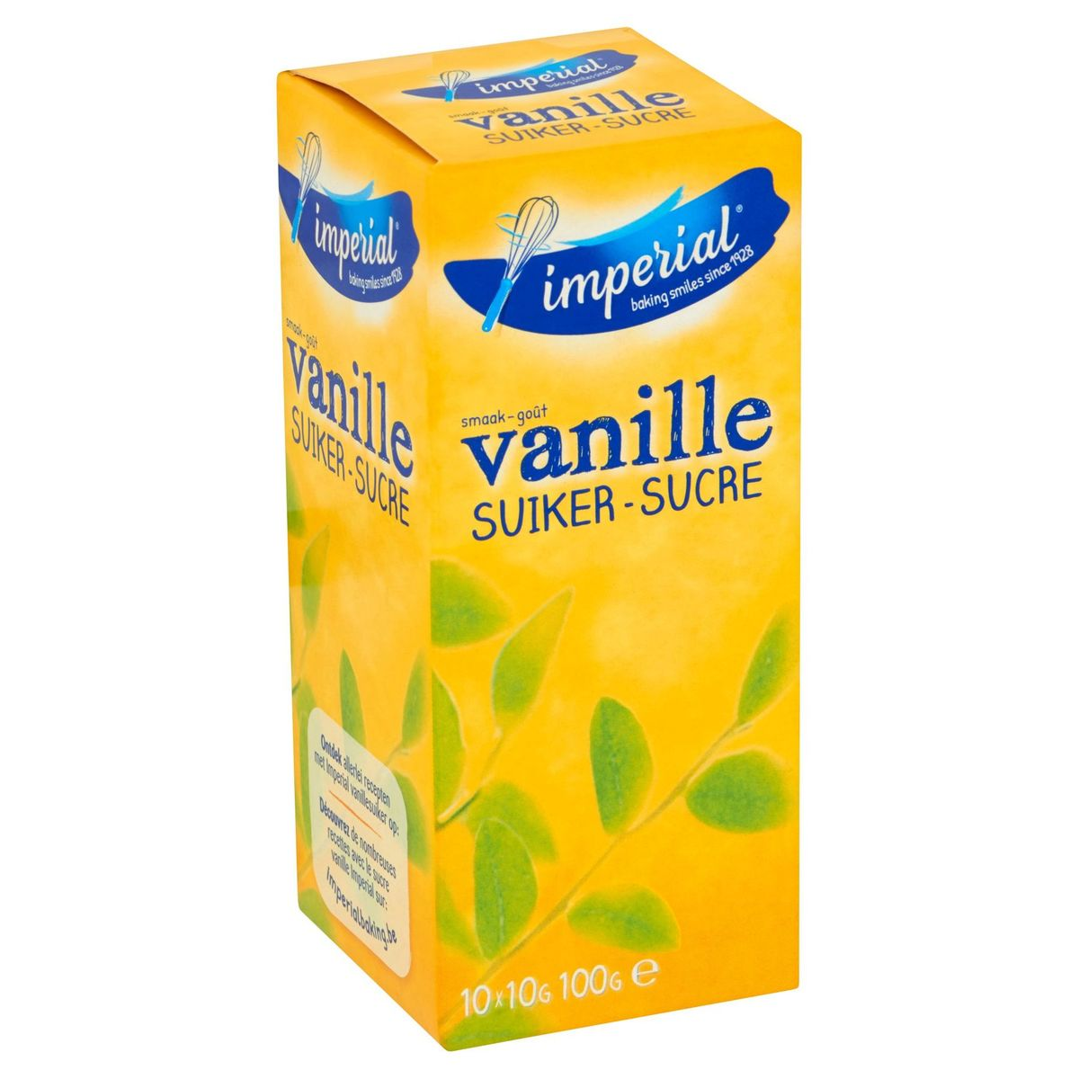 Imperial Sucre Vanille 10 x 10 g