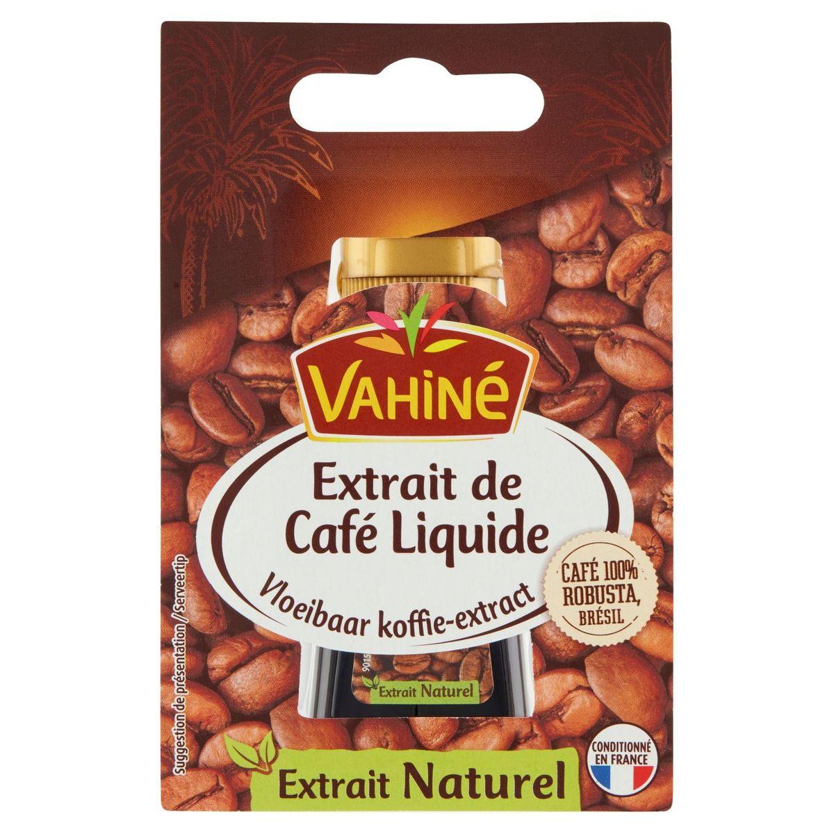 Vahiné Extrait de Café Liquide 20 ml