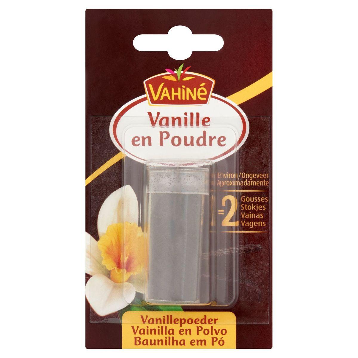 Vahiné Gousses de vanille en poudre sucrées 7 g