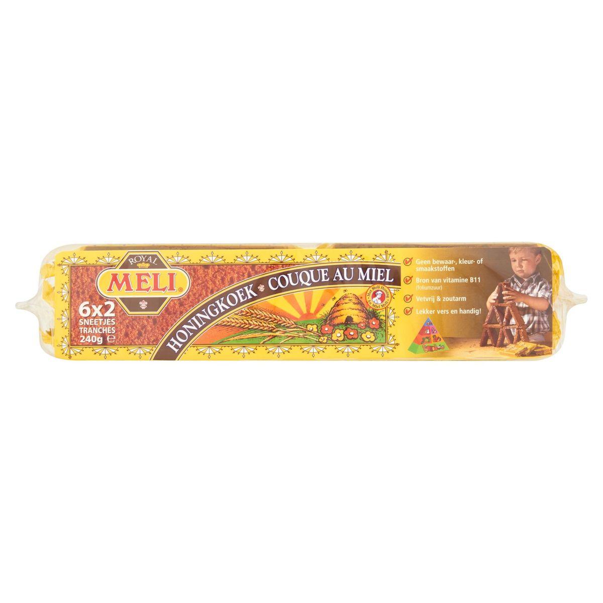 Meli Royal Couque au Miel 6 x 2 Tranches 240 g