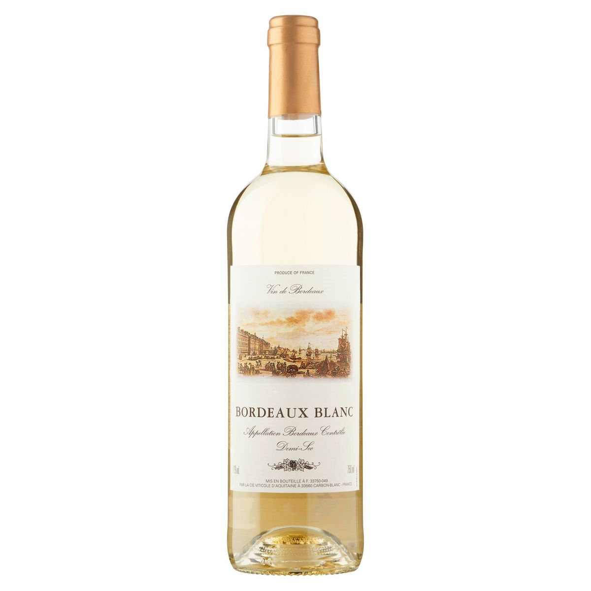 Bordeaux Blanc Demi-Sec 750 ml