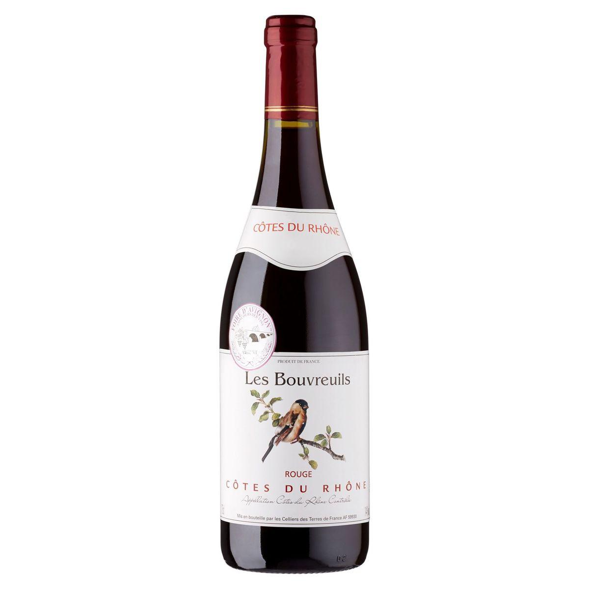 Les Bouvreuils Côtes du Rhône Rouge 75 cl