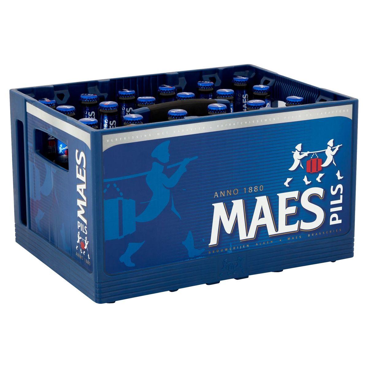 Maes Blond bier Pils 5.2% ALC 24x25cl Bak