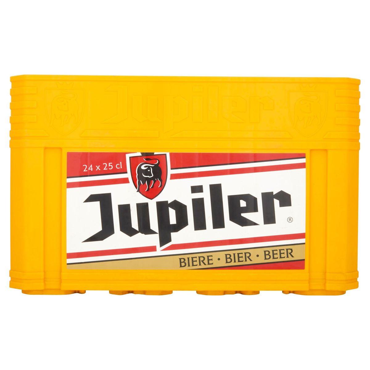 Jupiler Bière Blonde Caisse 24 x 25 cl