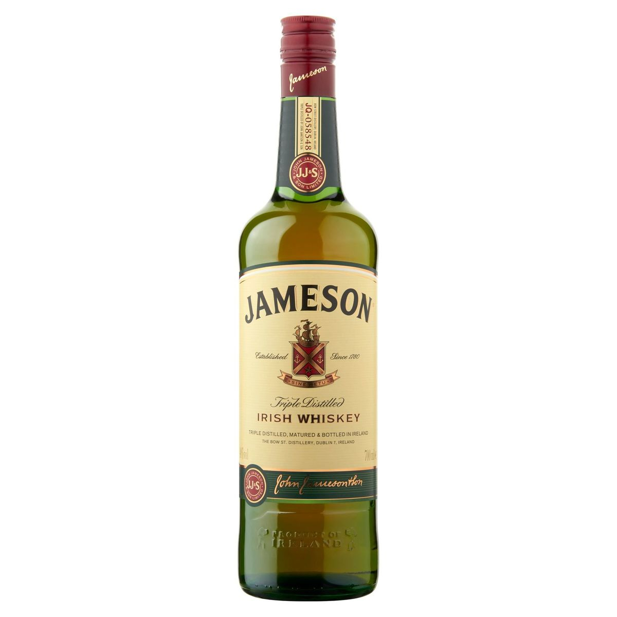 Jameson Irish Whiskey Ireland 70 cl