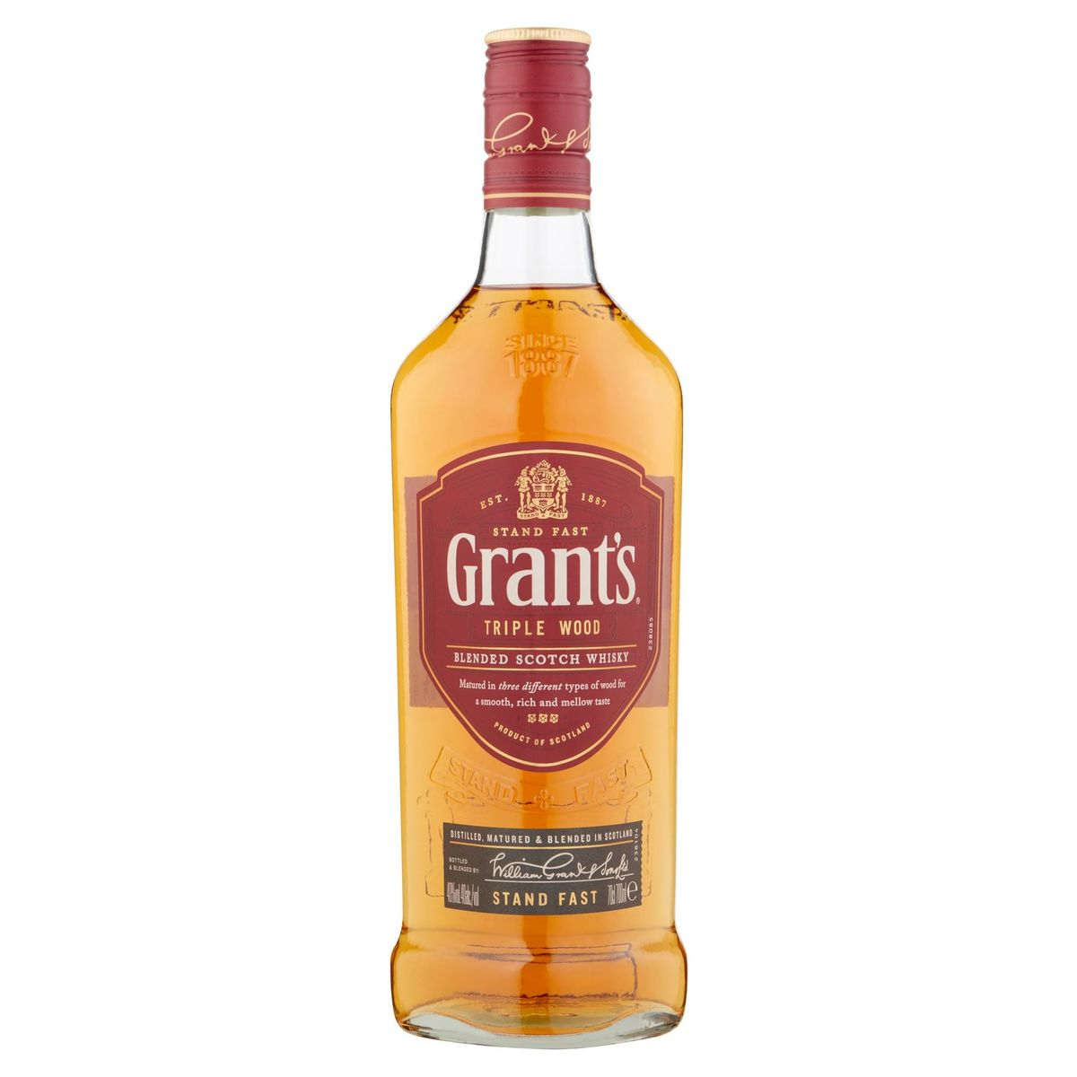 Grant's Triple Wood Blended Scotch Whisky 70 cl