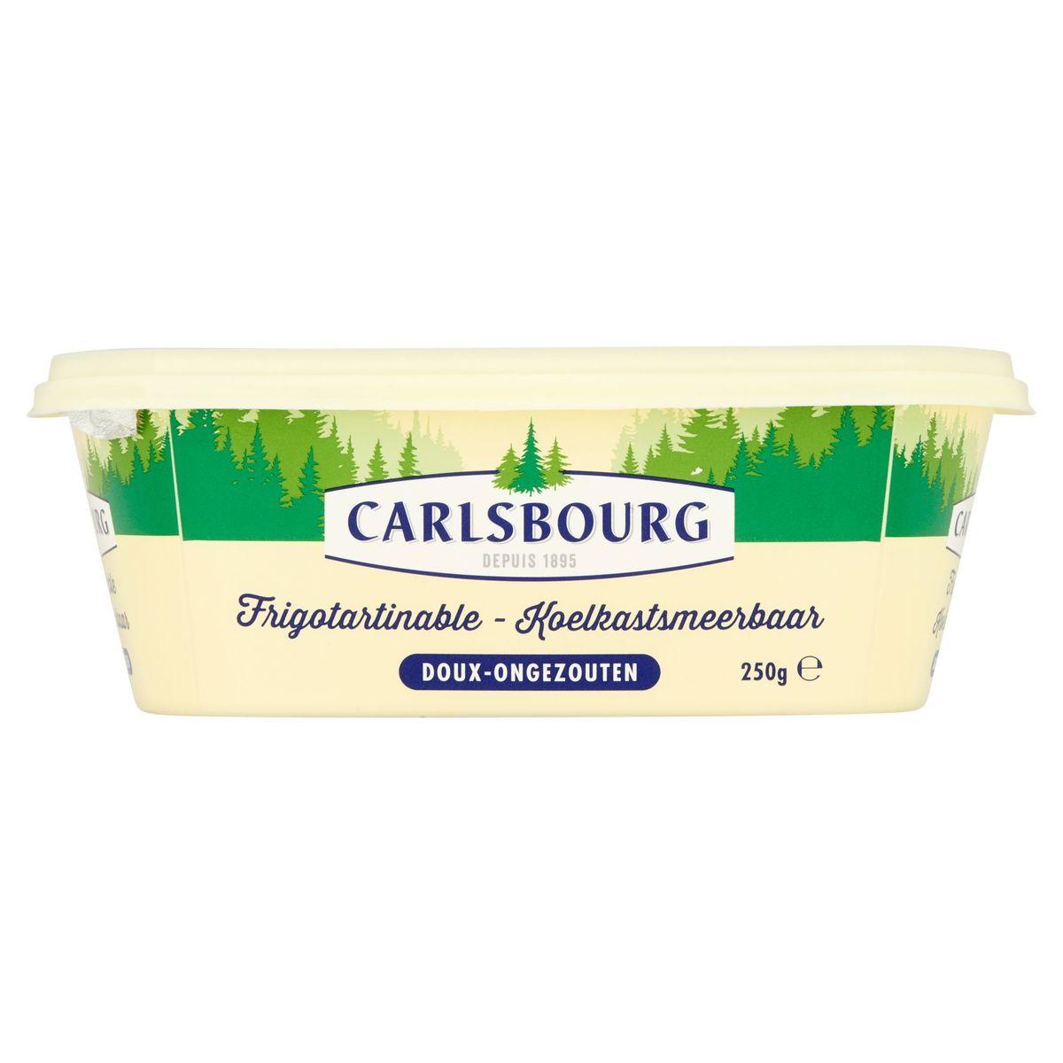 Carlsbourg Koelkastsmeerbaar Ongezouten 250 g