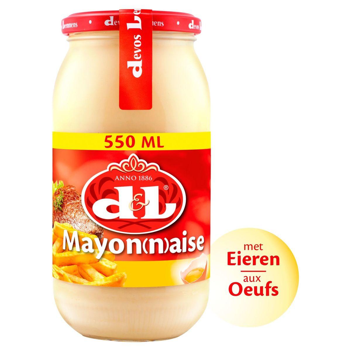Devos Lemmens Mayonaise met Ei 550 ml