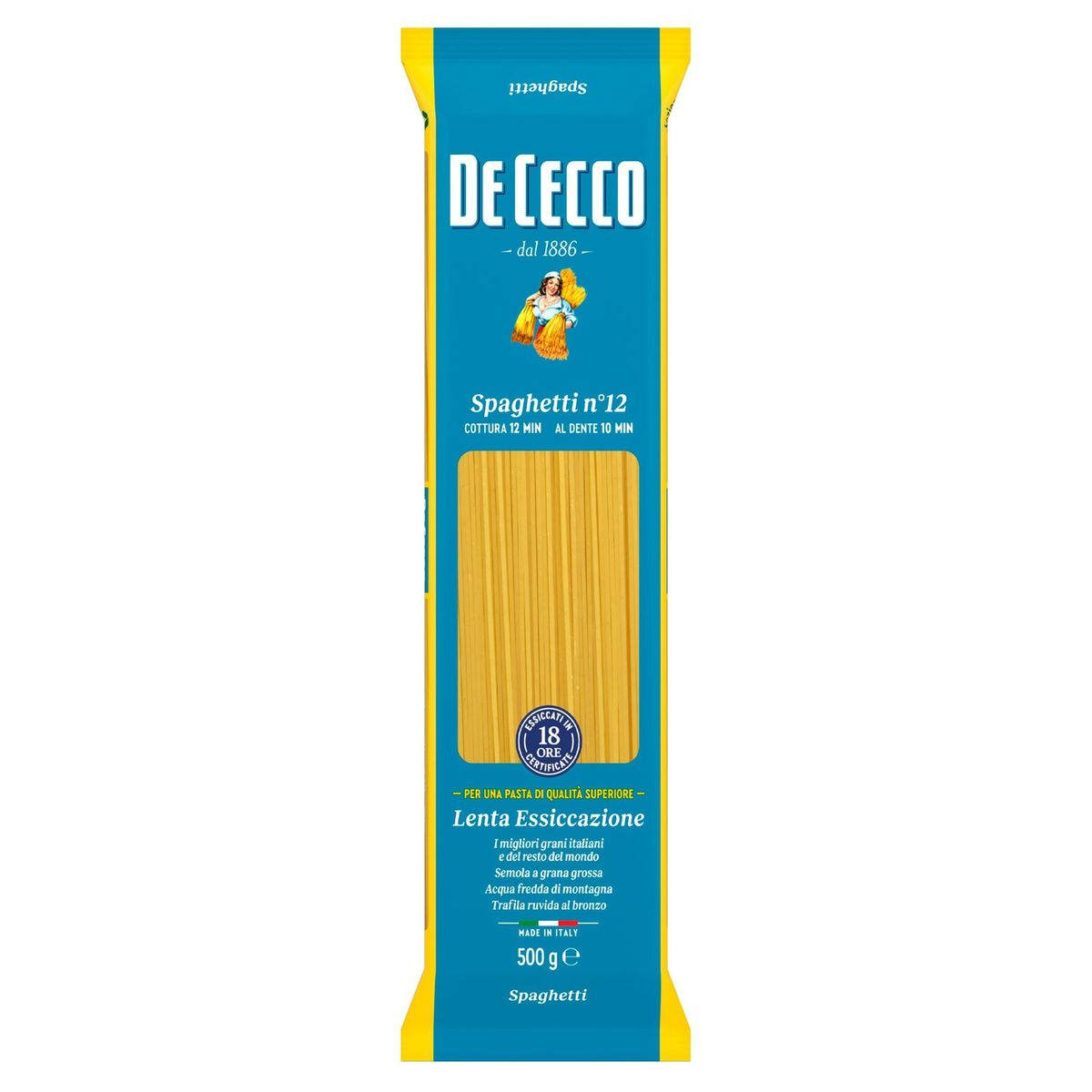 De Cecco Spaghetti n°12 500 g