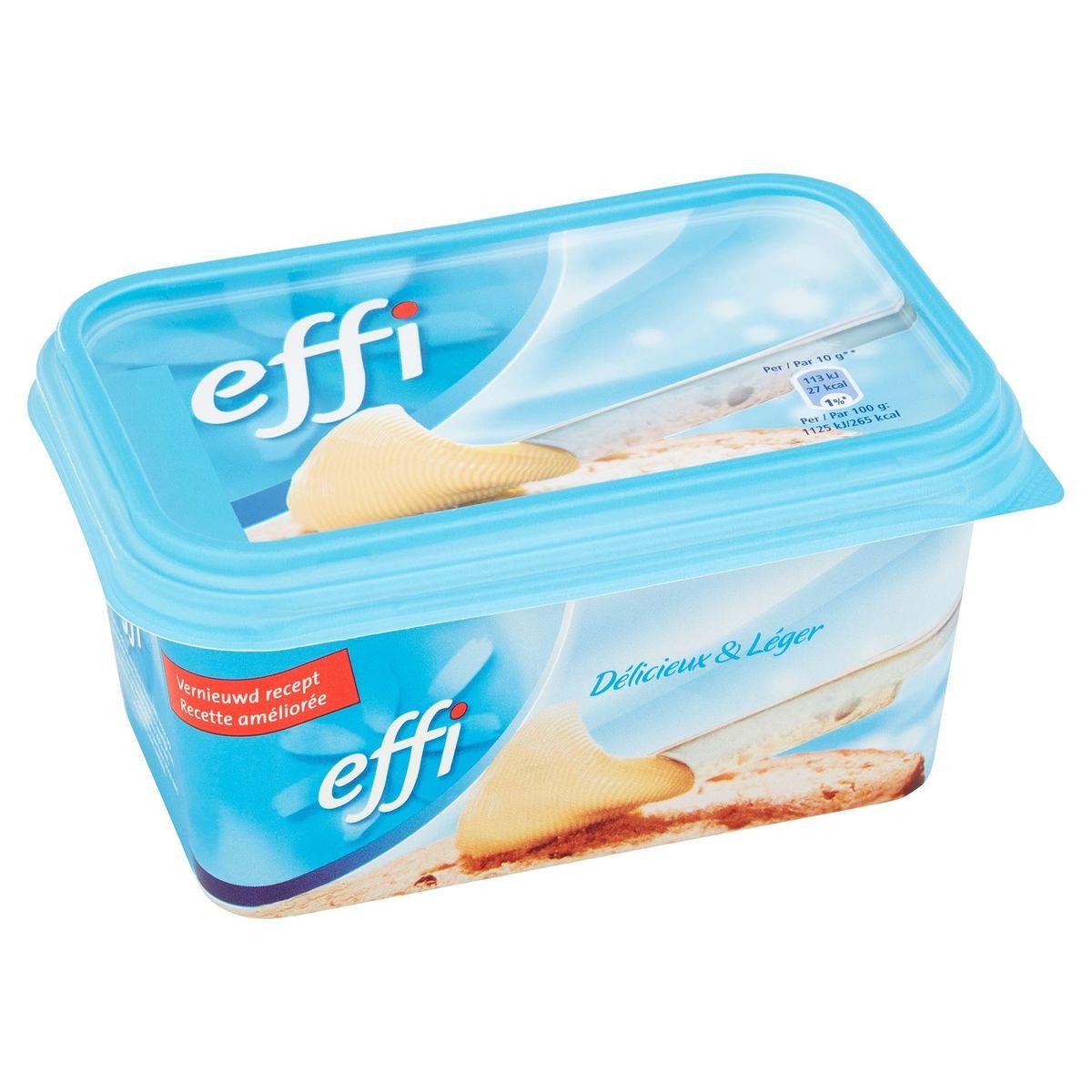 Effi Real Light Margarine om te Smeren 500 g