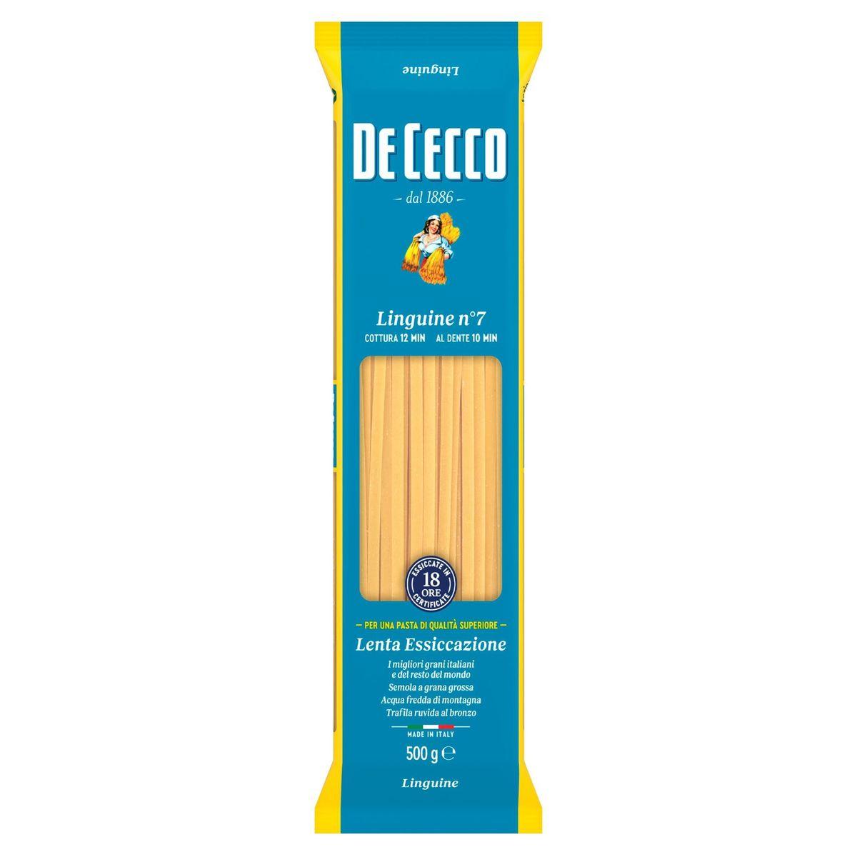 De Cecco Linguine n°7 500 g
