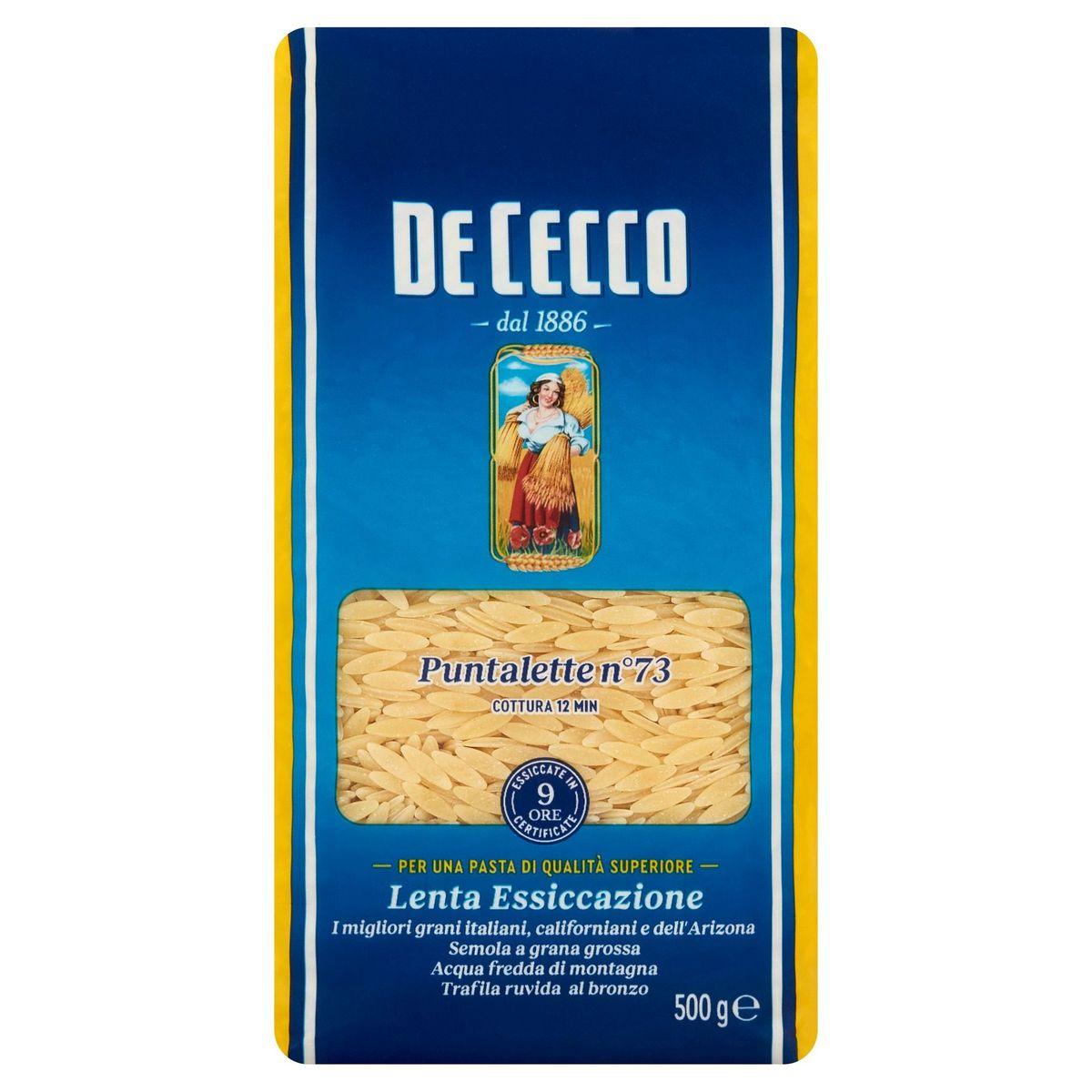 De Cecco Puntalette n°73 500 g