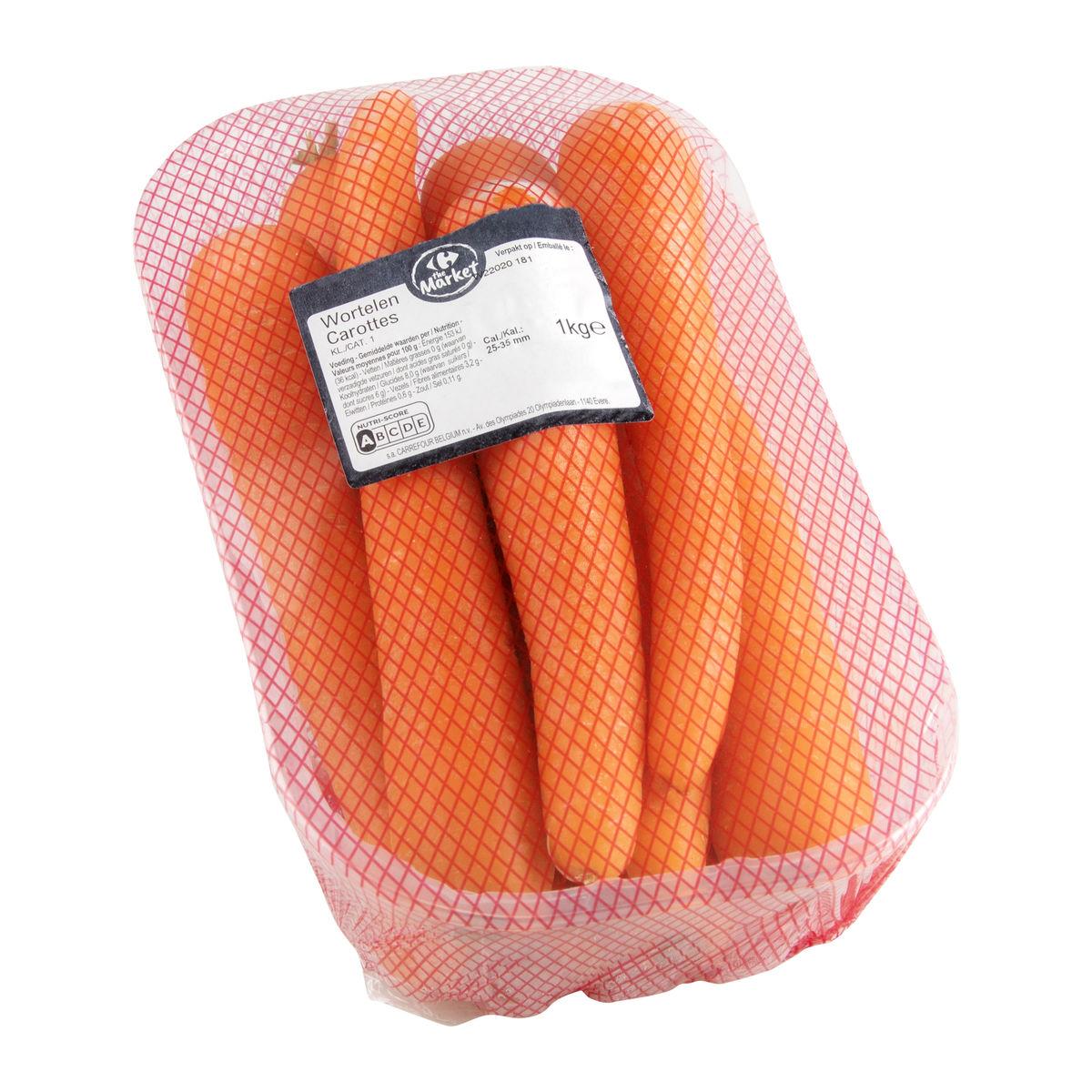 Carrefour Wortelen Schaal 1kg