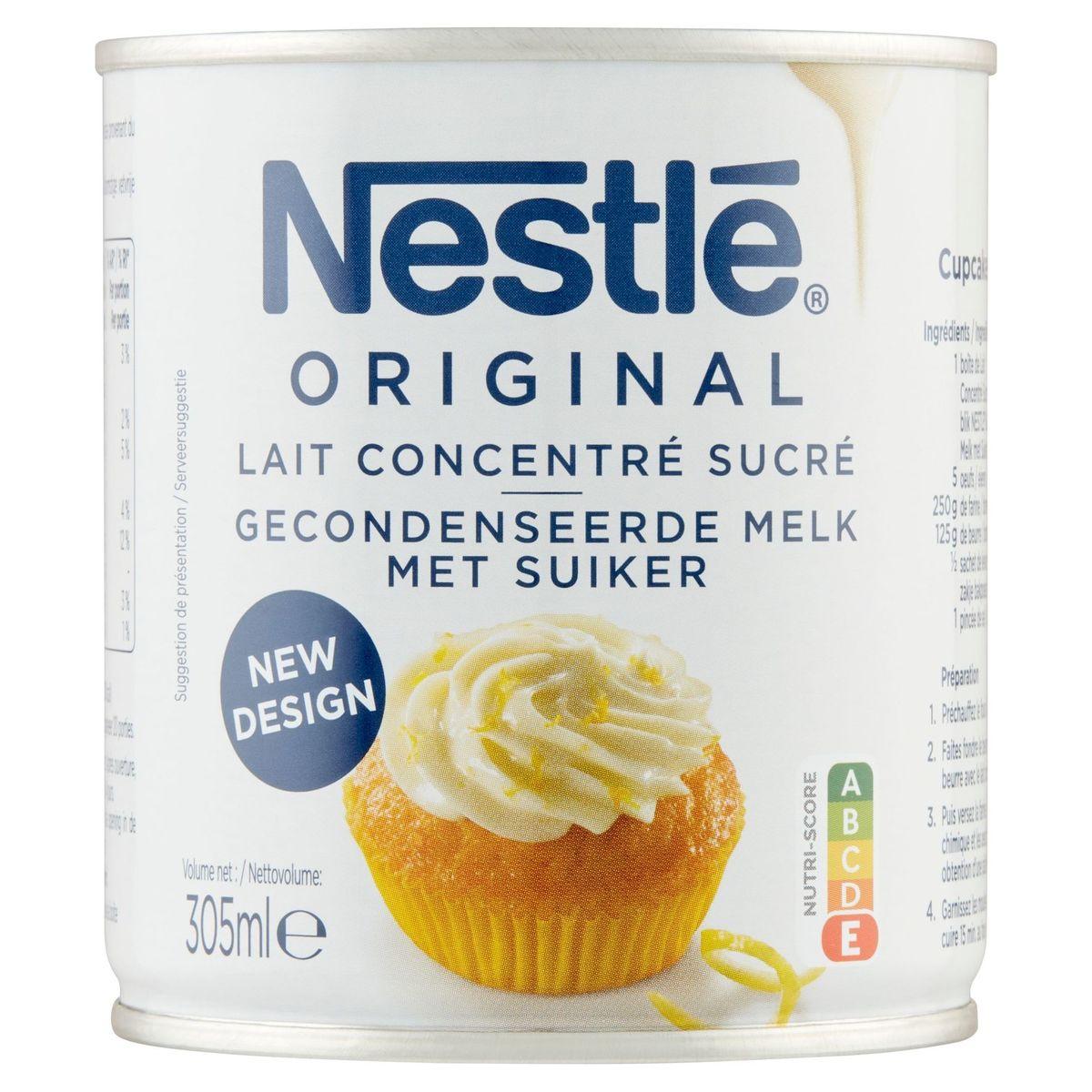 NESTLE Lait Concentré Sucré 305 ml