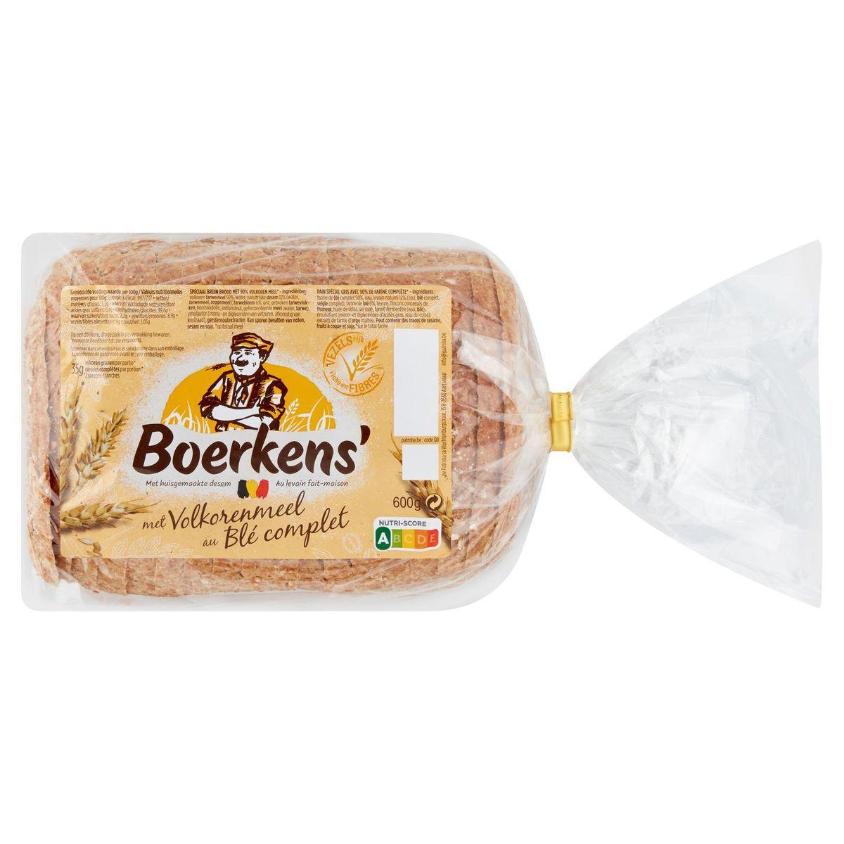 Boerkens' Grains Complets 600 g