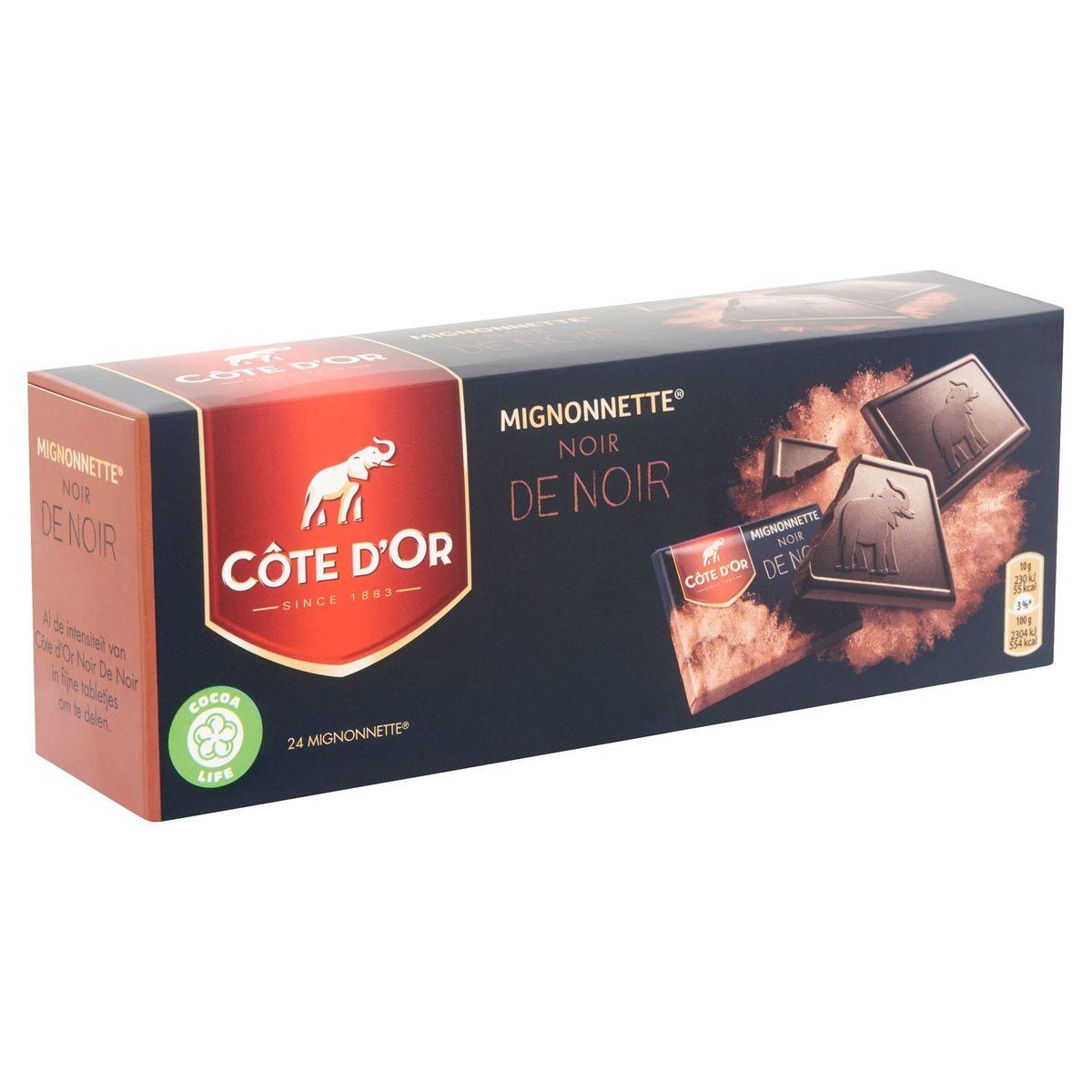 Côte d'Or Mignonnette Noir de Noir 24 Pièces 240 g