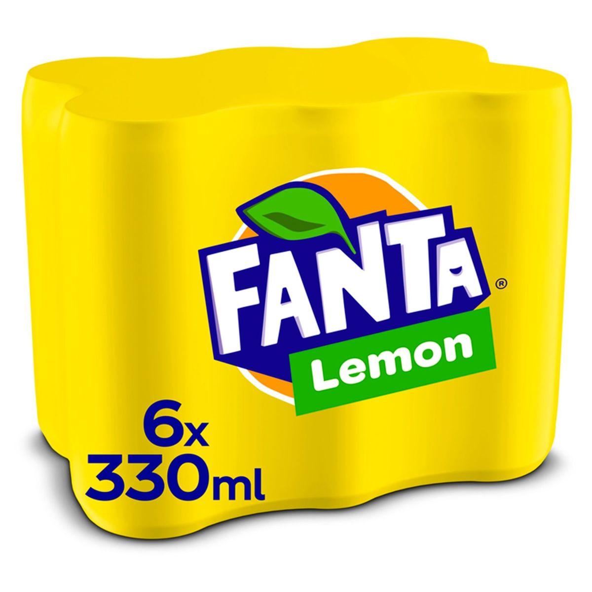 Fanta Lemon Canette 6 x 330 ml