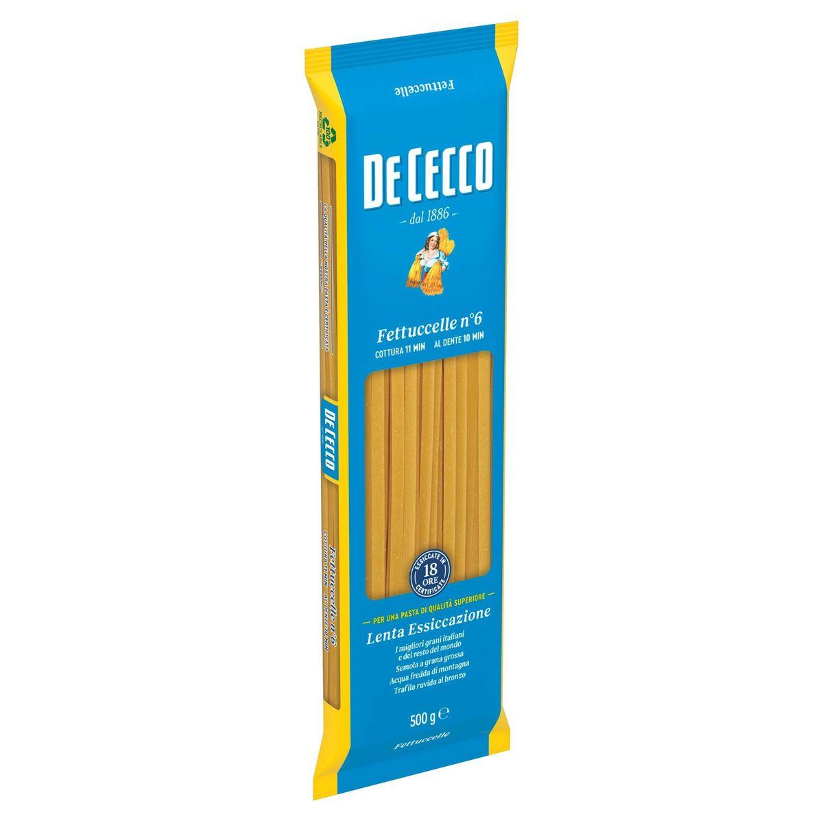 De Cecco Fettuccelle n°6 500 g