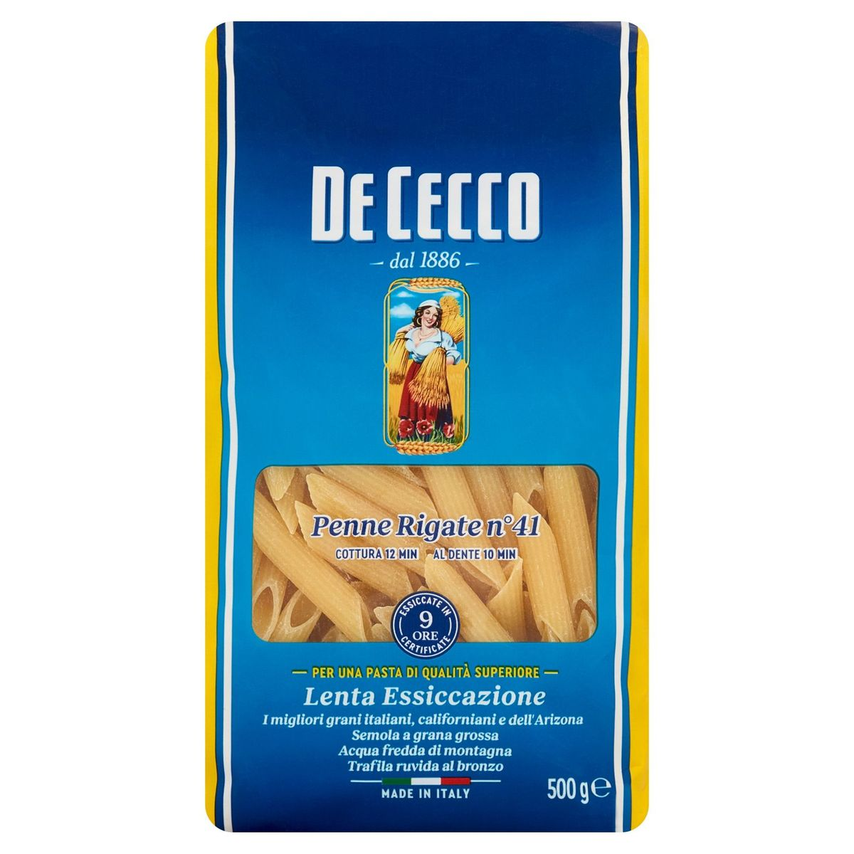 De Cecco Penne Rigate n°41 500 g