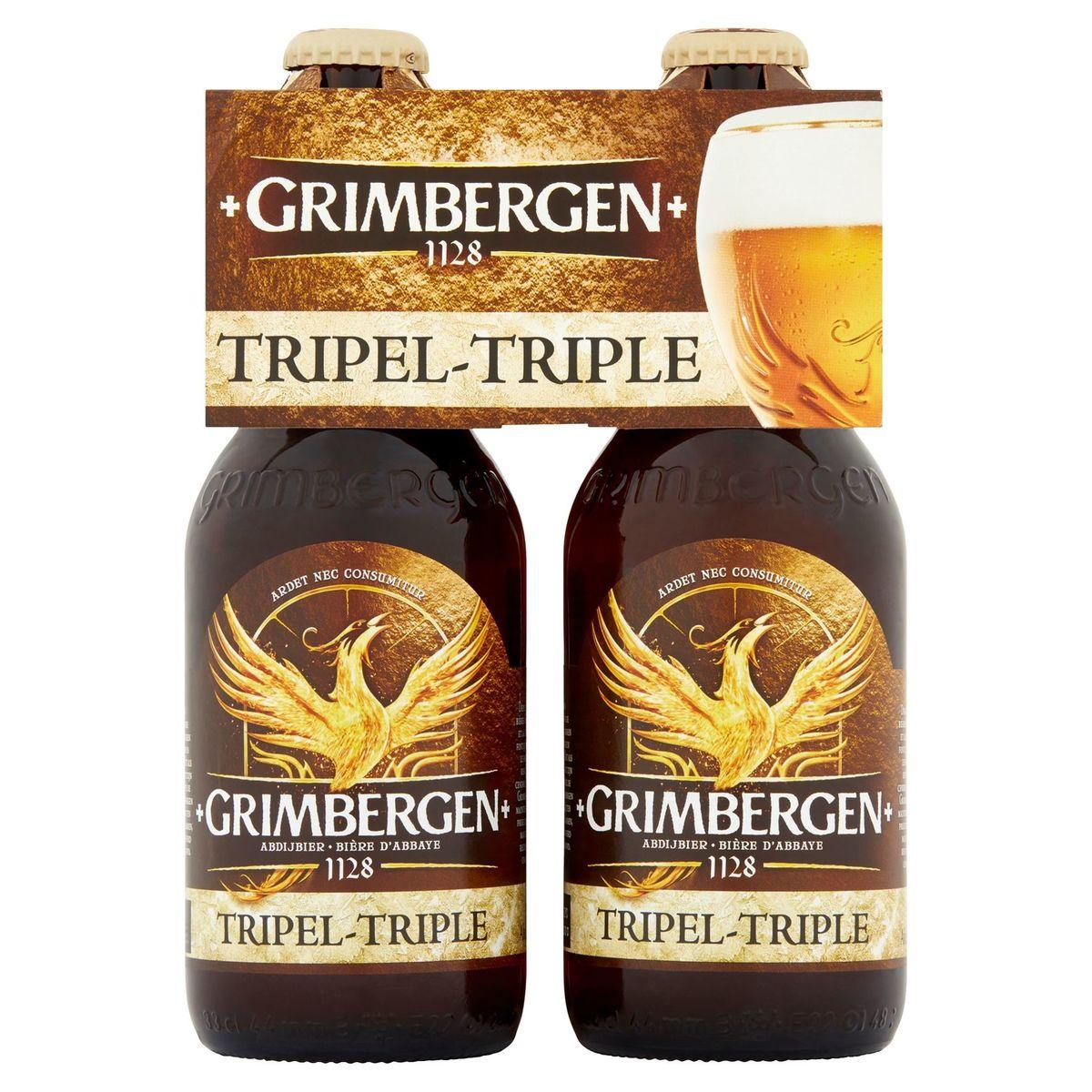 Grimbergen Abdijbier Tripel 9% ALC Fles 4x33cl