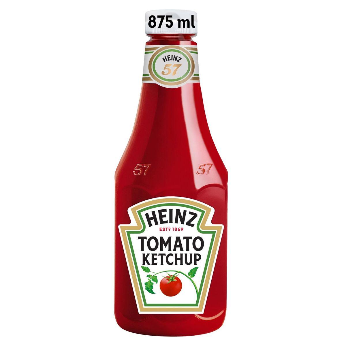 Heinz Tomaten Ketchup knijpfles 875 ml