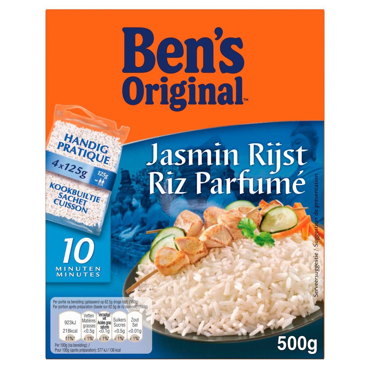 Uncle Ben's Riz Jasmin 4 x 125 g