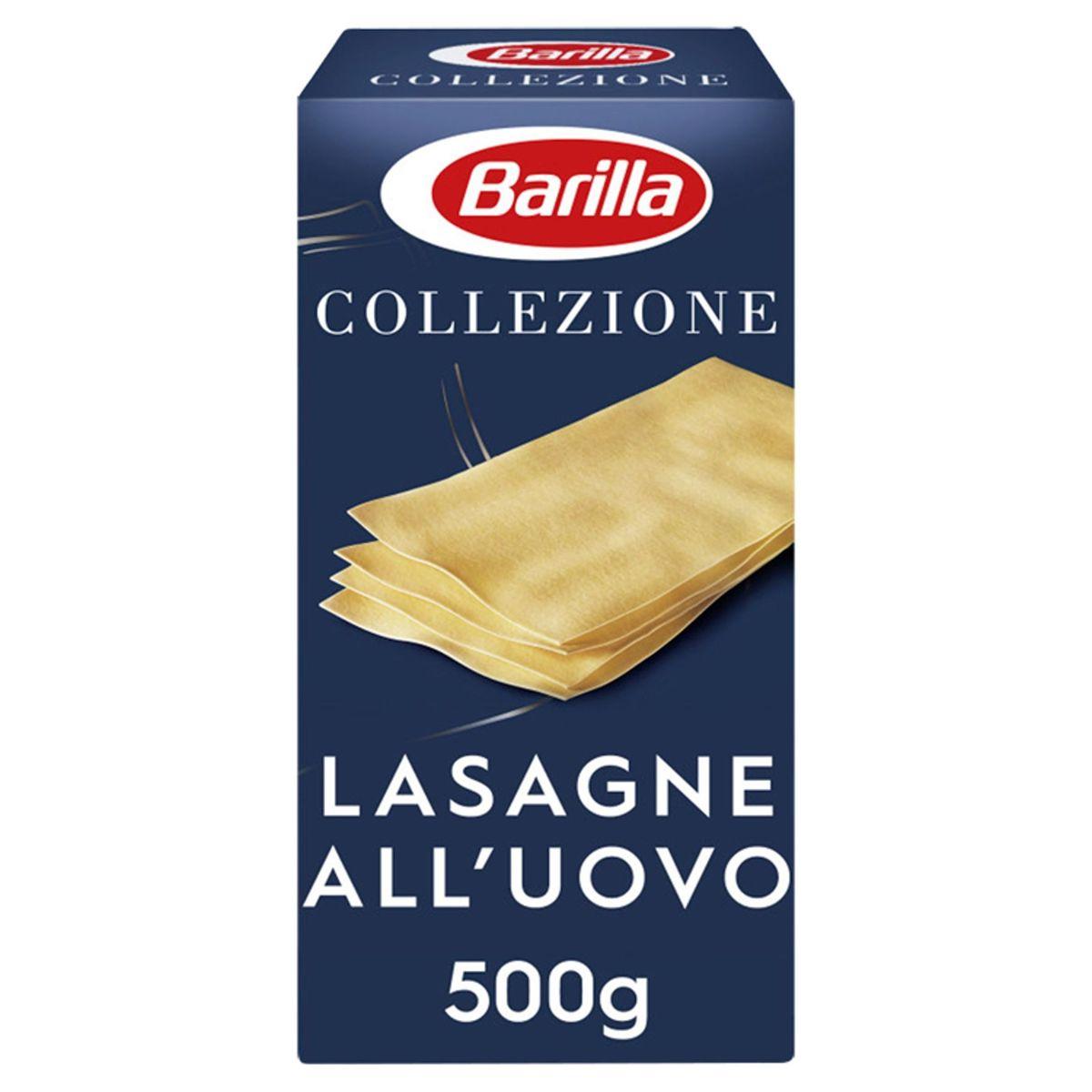 Barilla Lasagne all'Uovo Collezione 500 g