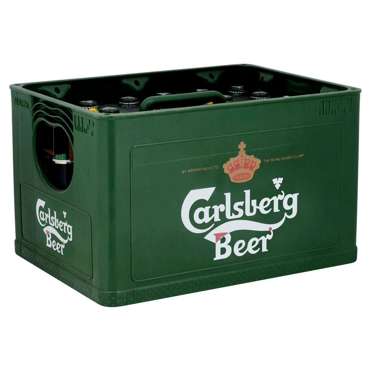 Carlsberg Copenhagen Premium Beer Krat 4 x 6 x 250 ml