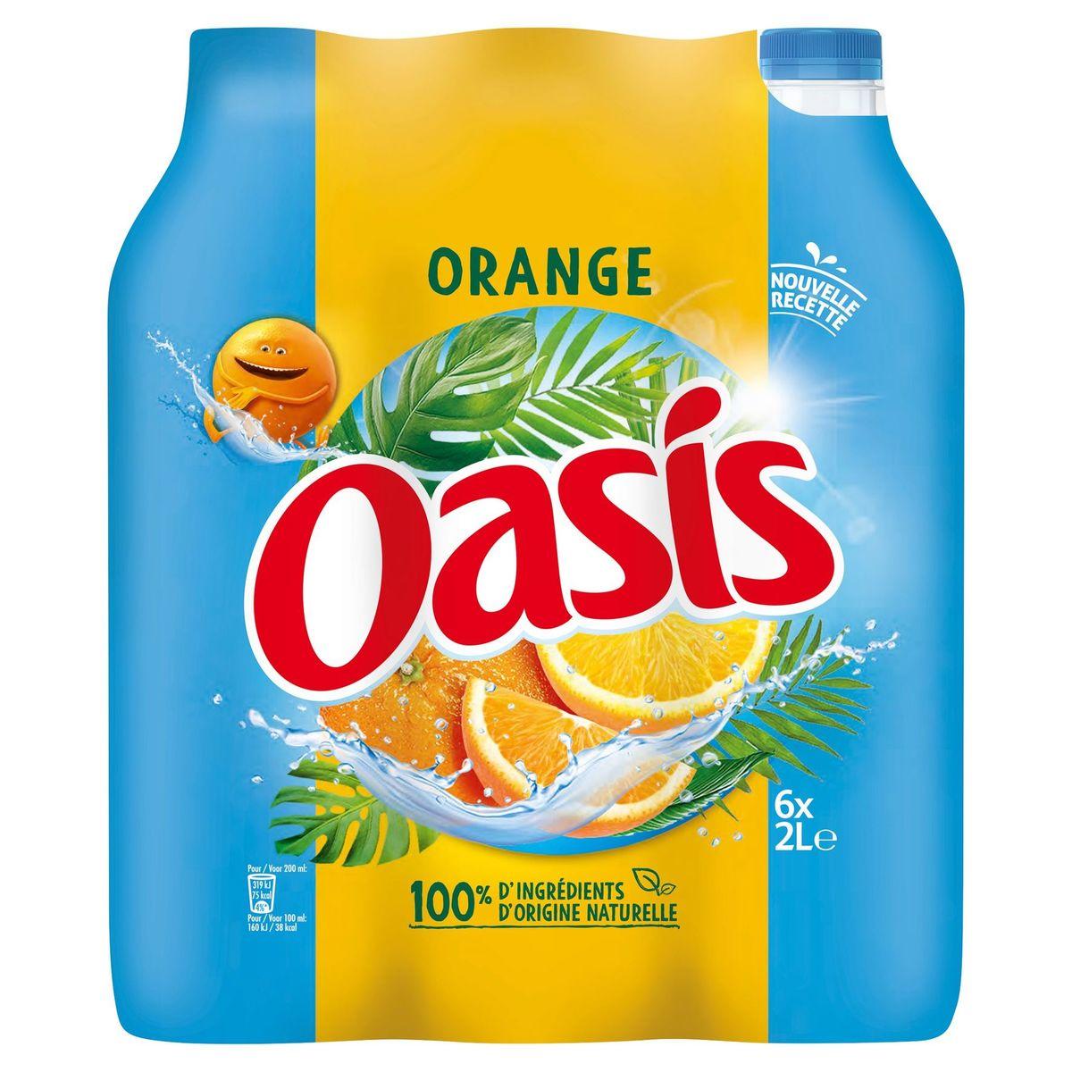 Oasis Sinaasappel 6 x 2 L
