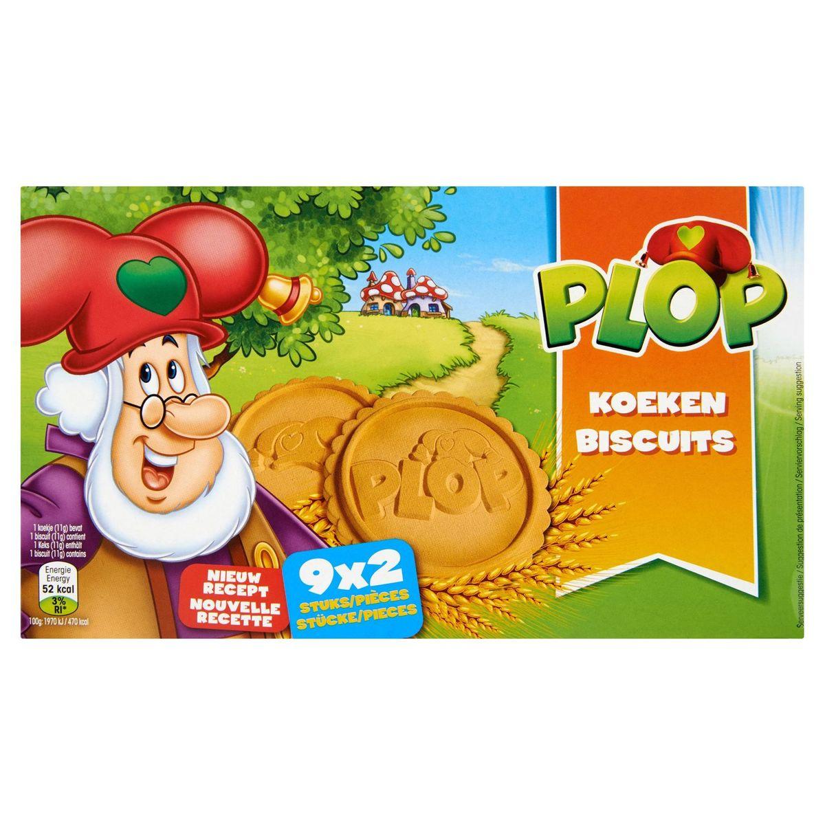 Plop Biscuits 9 x 2 Pièces 200 g