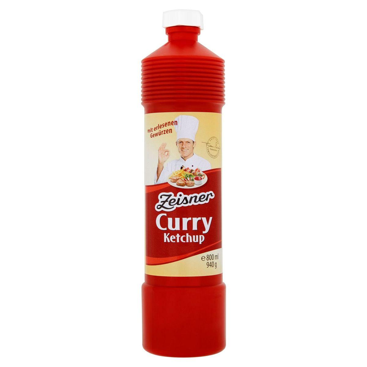 Zeisner Curry Ketchup 940 g