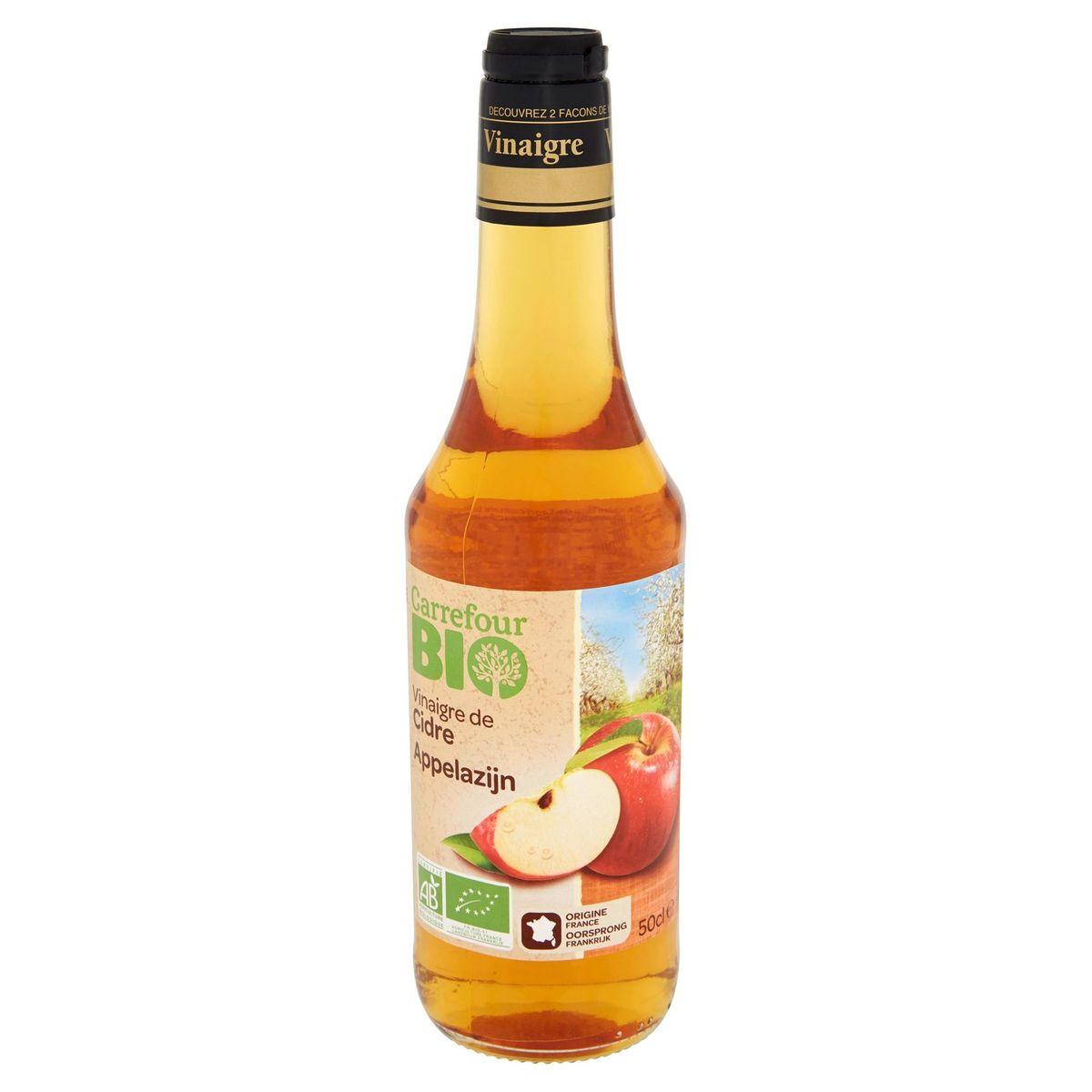 Carrefour Bio Vinaigre de Cidre 50 cl