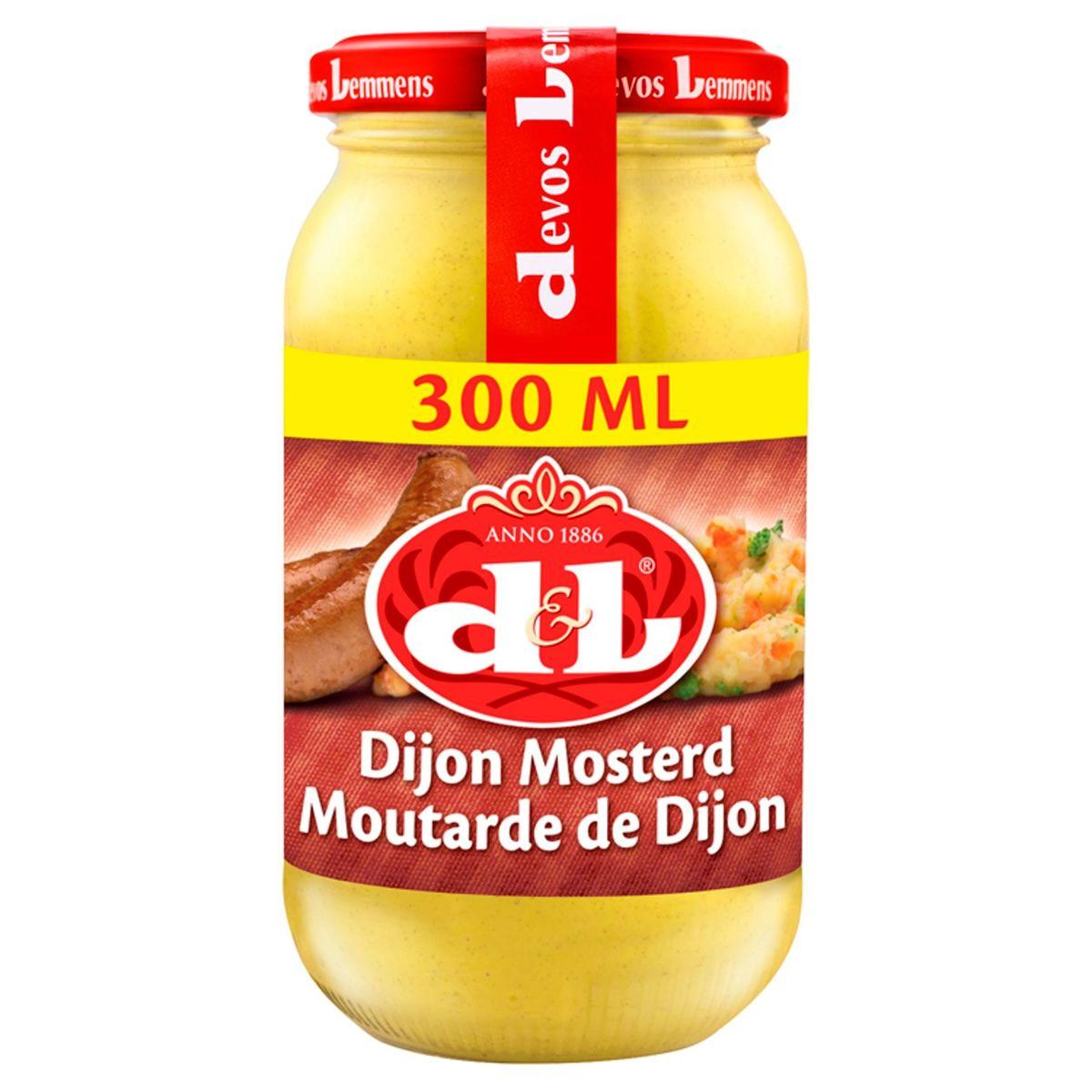 Devos Lemmens Moutarde de Dijon 300 ml