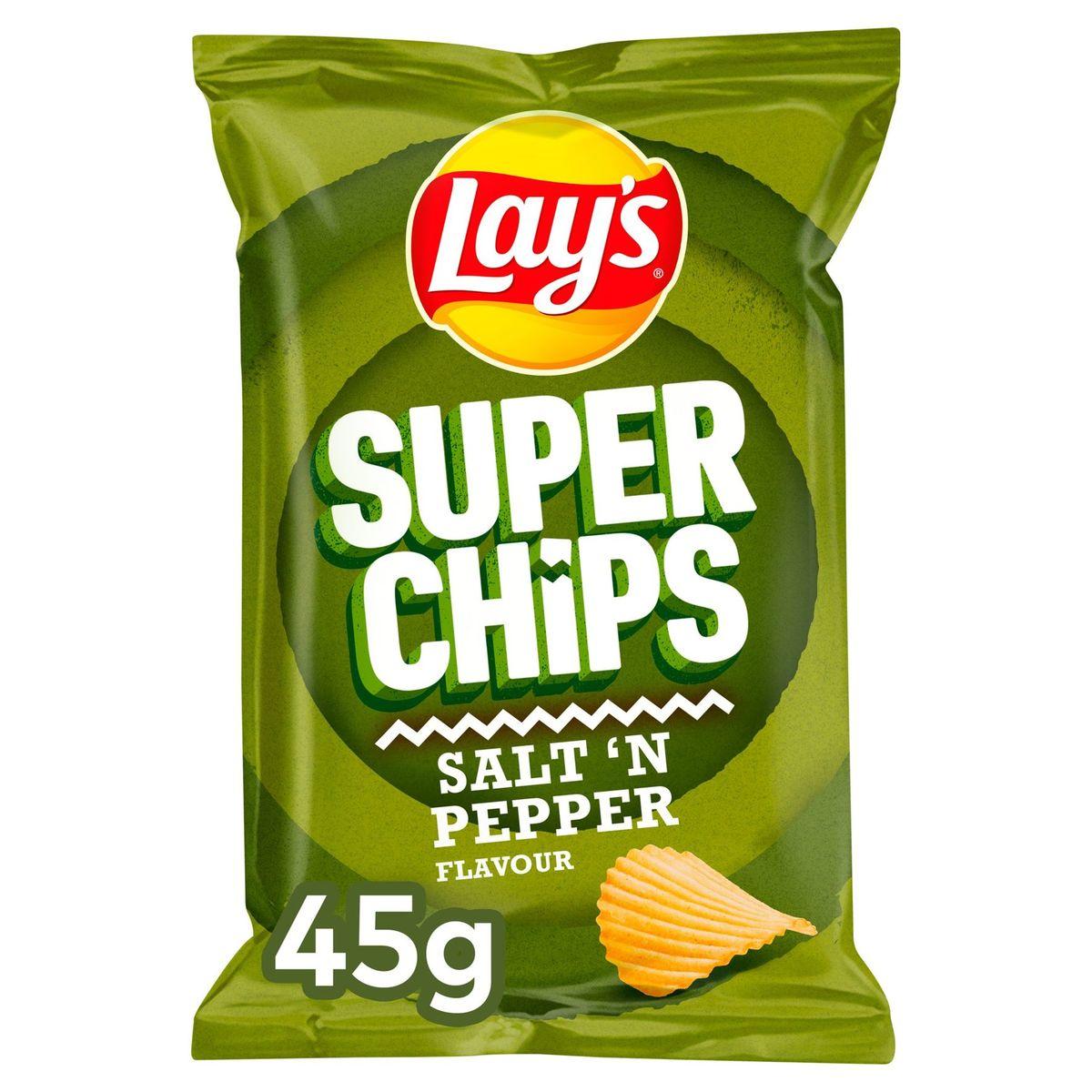Lay's Superchips Poivre & Sel 45 gr