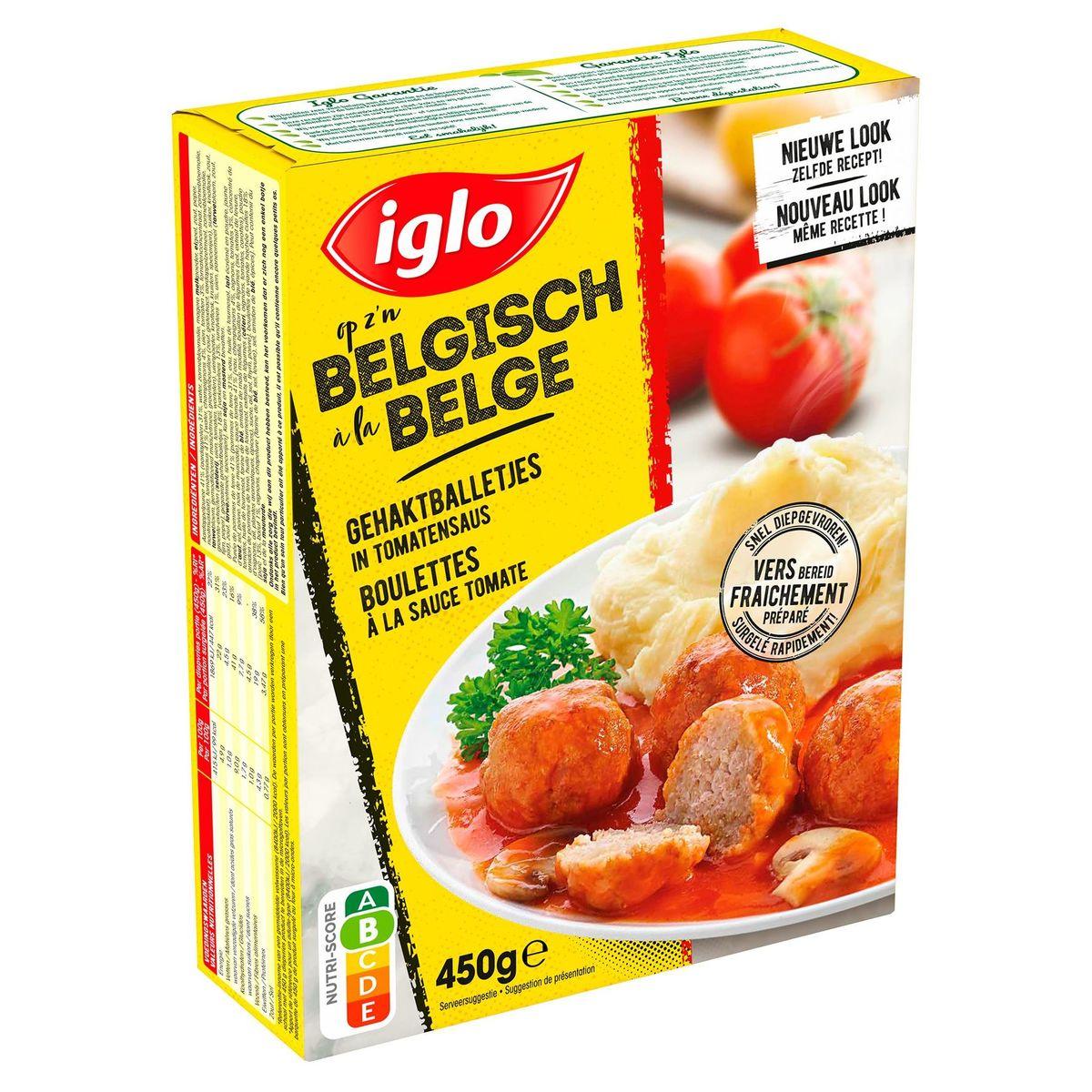 Iglo Gehaktballetjes in Tomatensaus 450 g