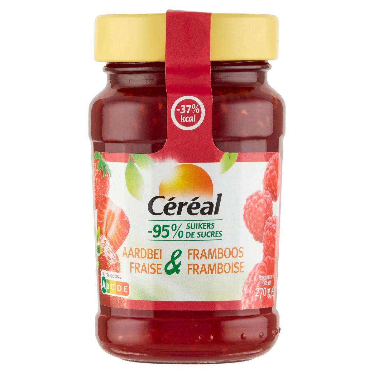 Céréal Aardbei & Framboos 270 g