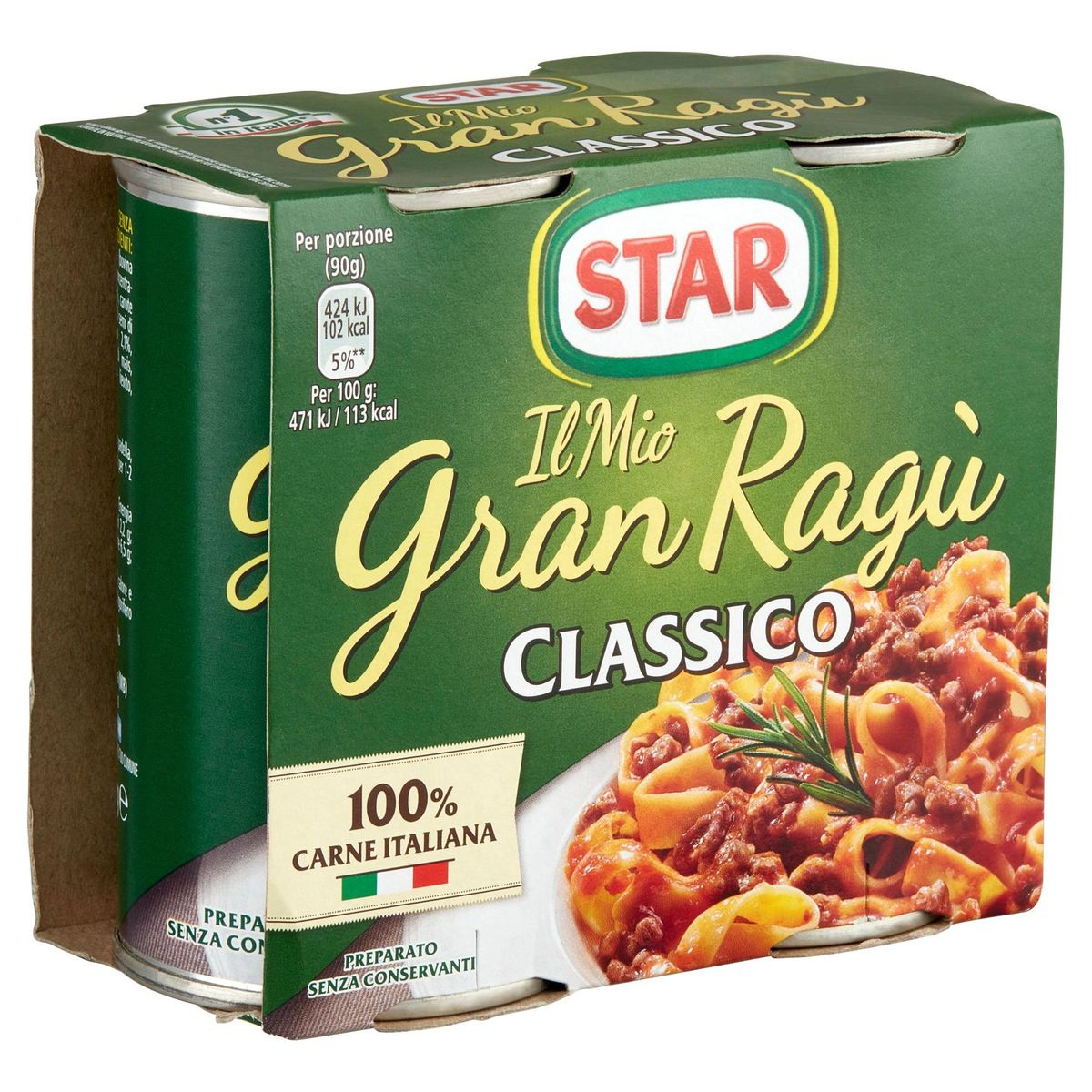 Star Il Mio Gran Ragù Classico 2 x 180 g