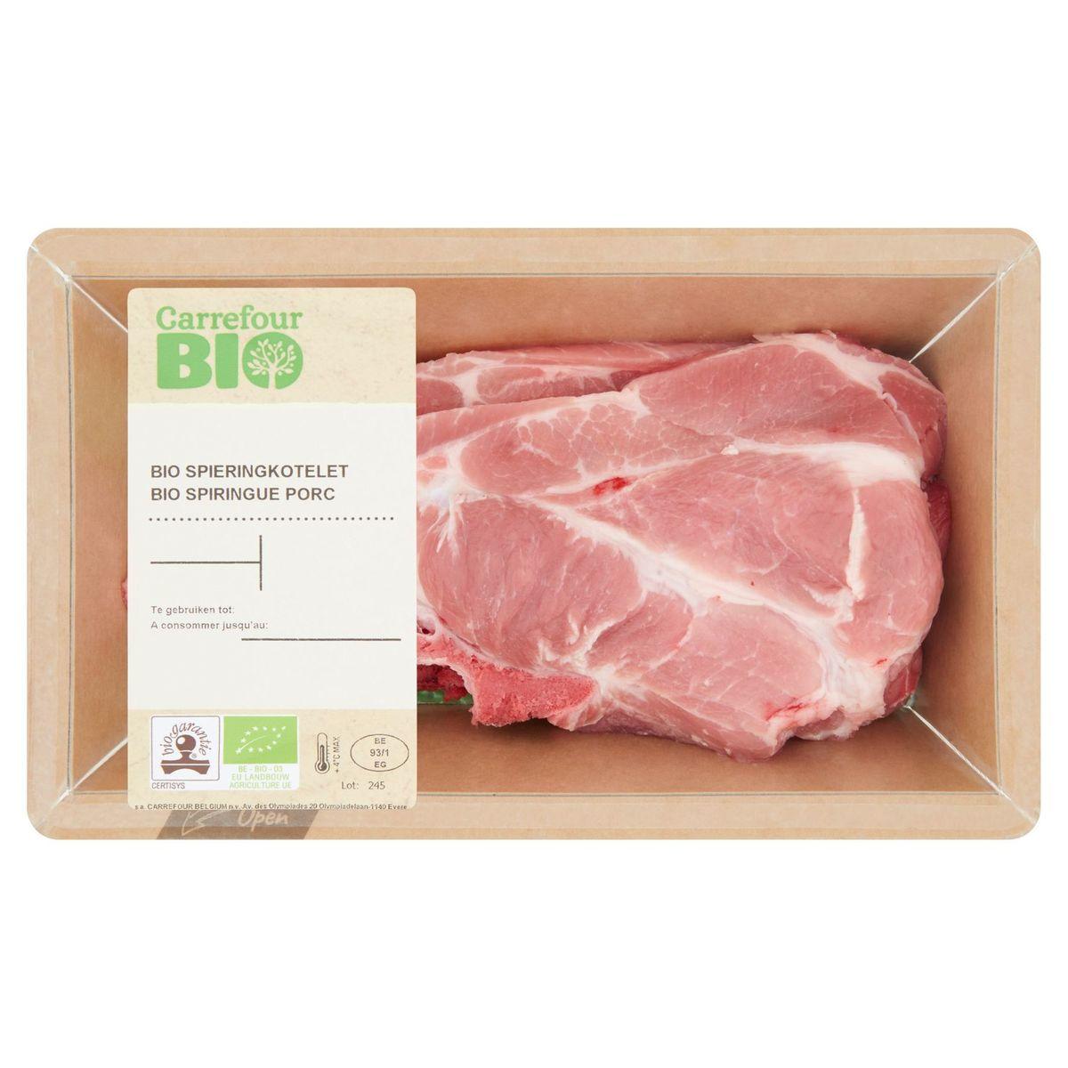 Carrefour Bio Spiringue Porc 0.210 kg