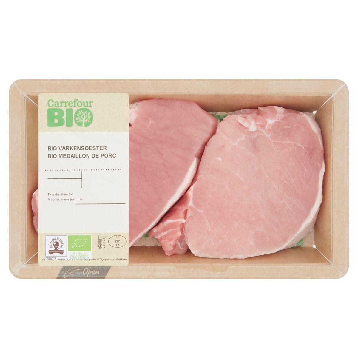 Carrefour Bio Médaillon de Porc 0.219 kg