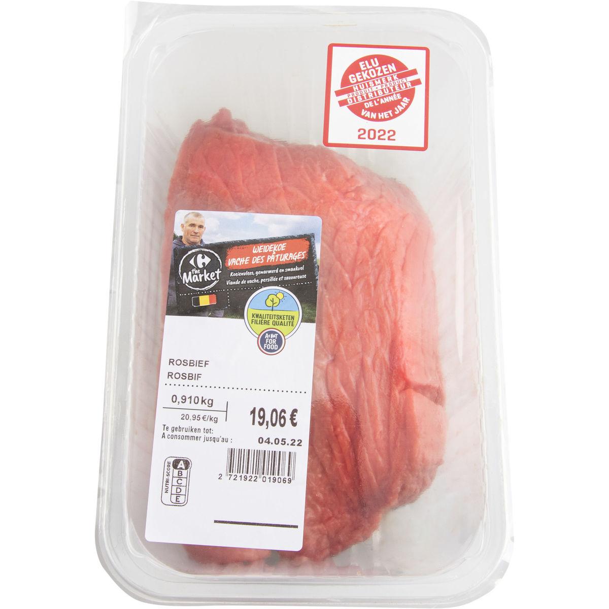 Carrefour FQC Filet pur vache