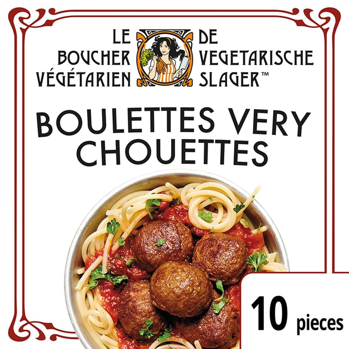 Le Boucher Végétarien Boulettes Végétariennes Very Chouettes 170 gr
