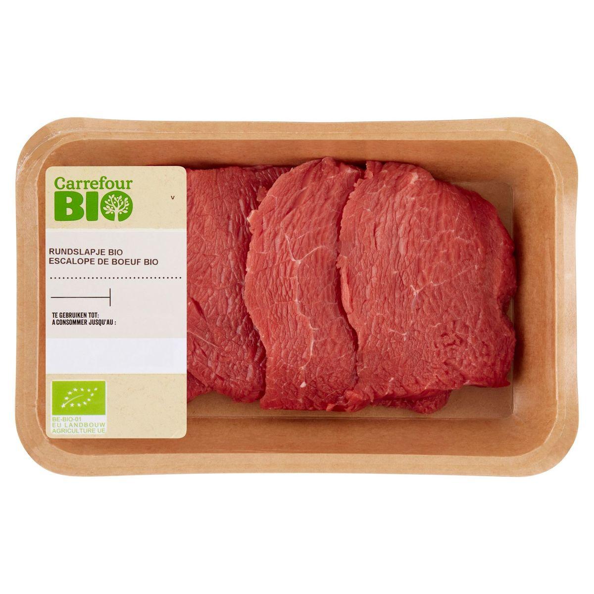 Carrefour Bio Escalope Boeuf