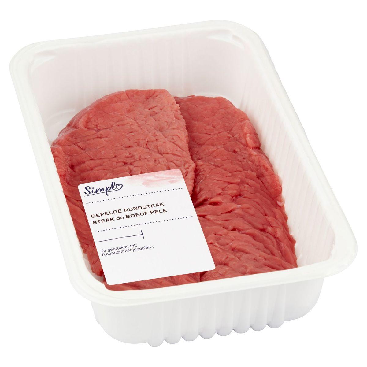 De Goedkoopste Gepelde Steak Vermalst
