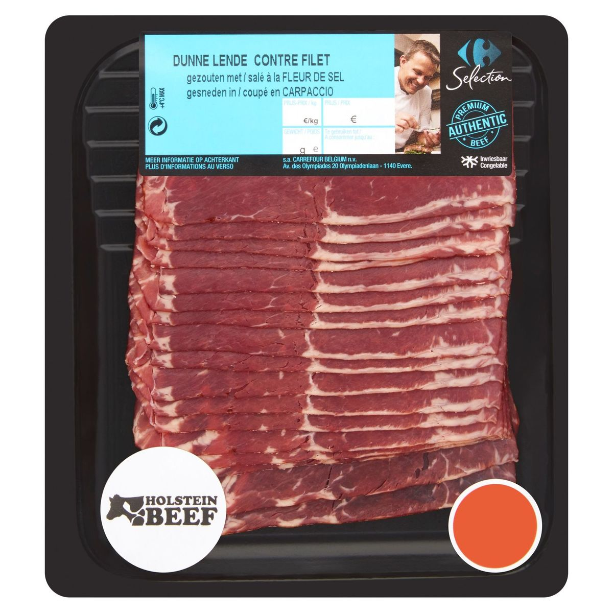 Carrefour Selection Holstein Beef Contre Filet 100 g