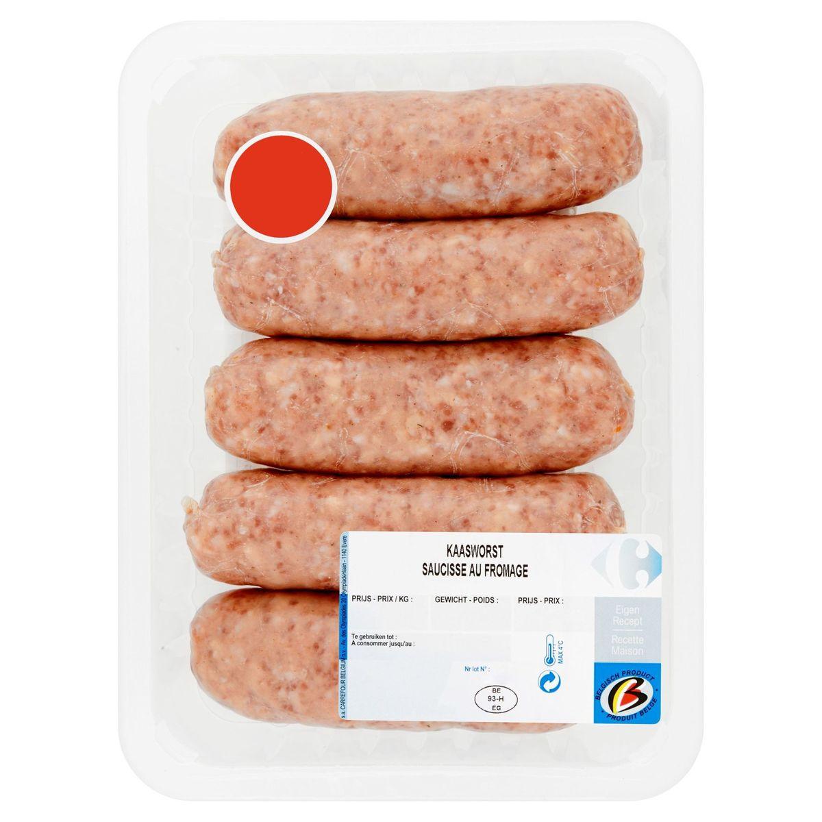 Carrefour Saucisse au Fromage 0.400 kg